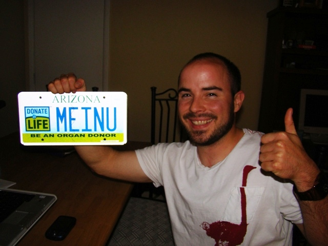 personalized license plates | michael's unsolicited advice